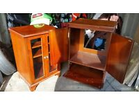 Hifi and T V Cabinet good used condition 50.00 for the two.