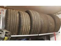 Partworn tyres various sizes 15 17 18 19 Pirelli Bridgestone Continental
