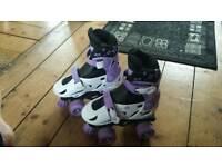 Quad roller skates size 11-13