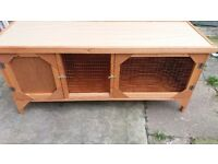 Rabbit/guinea pig hutch brand new