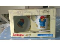Royal Worcester Paddington Bear 3 piece breakfast set
