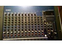 Yamaha MG16FX mixer in hard case