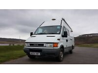 Xlwb 2004 Iveco daily campervan/racetrack