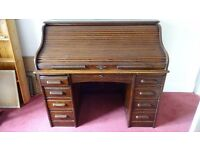 Roll Top Desk ~ Late 1800's - FREE DELIVERY*