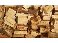 Seasoned Firewood logs (1m³)