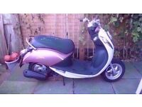 sym mio 100 with a 50 engine fitted full mot piaggio gilera aprilia derbi scooter 50cc 4 stroke sr50