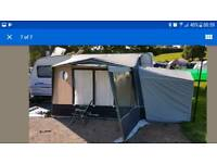 ISABELLA MAGNUM MOONLIGHT PORCH AWNING XL CARBON POLES+ANNEX+NEW CARPET+COSY CORNER ECT