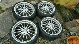 """MSW RS 18"""" Alloy Wheels"""