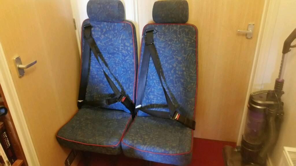 2 x Single Seaters suit Van