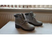 Sky Blue Ankle Boots size 4