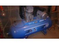 ABAC B3914 150L BELT DRIVEN AIR COMPRESSOR