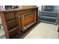 Beautiful Mid Century Fire Surround & Fire