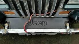 Jeep wrangler yj frame cover