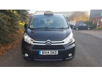 2014 CITROËN DISPATCH LONGWHEEL BASE TAXI * 8 SEATER VERY LOW MILEAGE *