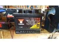 12v Car Battery Like New