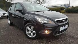 FORD FOCUS 1.8 Zetec 5dr Fresh Mot & Serviced & Warranty A Nice Clean Car (black) 2008