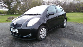 TOYOTA YARIS 1.4 DIESEL 5 DOOR HATCH LOW MILES SERVICED 2 KEYS