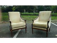 Pair of chairs BY WADE. AS NEW CONDITION! BARGAIN!