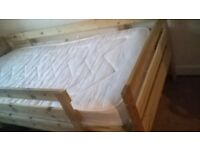 single bed frame,matress not available