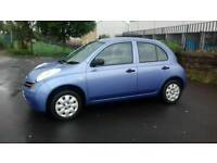 Nissan Micra 1.2 petrol Automatic Low Warranted mileage long mot Excellent drives