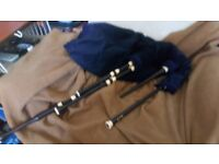 Shepherds small highland bagpipes, 3 months old.