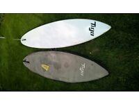 Tiga 285 ACR windsurf board, vgc