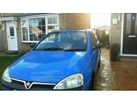 VAUXHALL CORSA 1.2 16V CLUB 75000 MILES ONLY Great for new driver or learner.