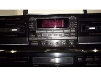 CD and cassette player ( seperates)