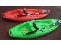 Pair Tek Sport Sit on Kayaks