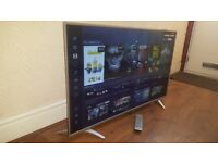SHARP 49-inch SUPER Smart 4K ACTIVE HDR LED TV-builtin Wifi,Freeview & FREESAT HD,GREAT Condition