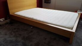 Double Bed for Sale with Mattress, good condition, easy to assemble.