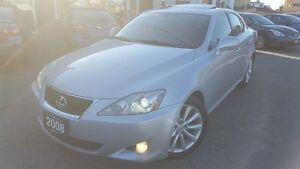 2008 Lexus IS 250 LEATHER/SUNROOF/CERTIFIED!