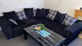 ❤️💚❤️Brand New Verona Chenille Premium Fabric 3+2 / Corner Sofa / Swivel Chair / Footstool