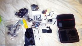 Gopro hero 3 + with accessories/extras