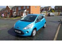2010 ford ka 1.2 petrol only 43000 miles with service history cheap tax full mot best colour