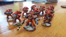 Warhammer 40K - Space Marine Tactical Squad (Blood Angels)