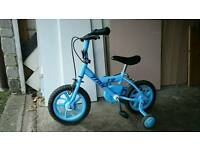 "12"" Wheel Halfords bike with Stabilisers"