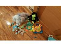 Baby toys bundle mix of interactive musical and light uptoys