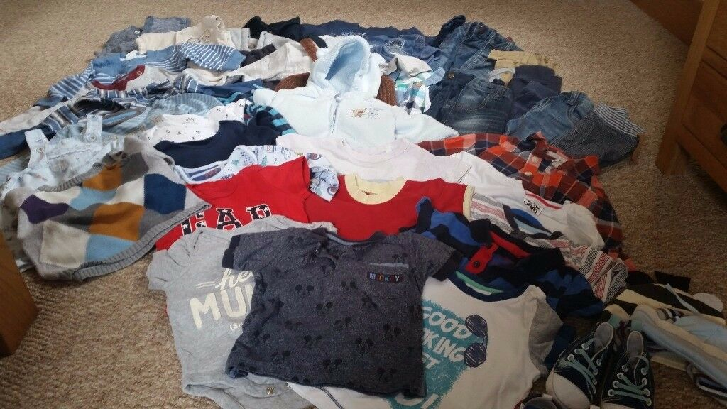 Massive boys bundle of clothes 6-9months Excellent condition