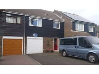 4 Bedroom House close to Town Centre. Quiet cul-de -sac with off road parking for up to 3 cars.