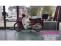 *CLASSIC* Honda C90 in Retro Red colourway!