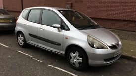Honda Jazz 1.4l manual hatchback 2003