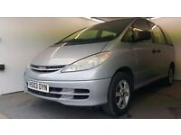 2003   Toyota Estima 2.4D   Auto   Petrol   8 SEATER----- DVD----LEATHER---MPV 8 SEATER