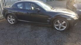 MAZDA RX8 192 2004. 88000 MILES ALL PARTS AVAILABLE