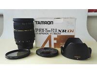 Tamron SP AF 28-75mm f/2.8 AF XR Di LD Macro Lens for NIKON
