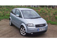 AUDI A2 BREAKING ALL PARTS SILVER & BLACK