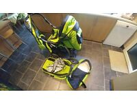Junior pram pushchair stroller buggy 3 in1 from Baby-Merc + car seat included!