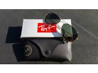 Brand New Womens Ray-Ban Sunglasses ... bought but never worn as too broad for my narrow face!
