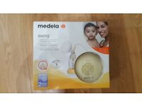 Medela Swing 2-Phase Electric Breast Pump with Calma,