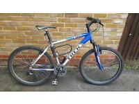 TREK 4300 Mountain bike, 21 speed, front suspension, free lock, great condition
